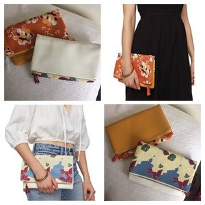 (2) Rachel Pally Reversible Clutches
